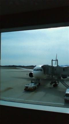 久しぶりの飛行機☆